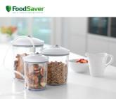 Set de 3 Tarros para envasar al Vacío FoodSaver