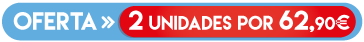 OFERTA - 2 UNIDADES por 62,90 €