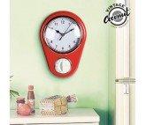 Reloj de Pared Cuentaminutos Vintage Coconut