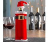 Gorro y Abrigo de Papá Noel para Botellas