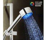 Ducha con Luz Redonda Eco Led Shower