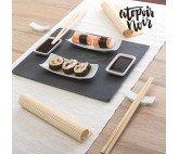 Set de Sushi con Bandeja de Pizarra Atopoir Noir (11 piezas)