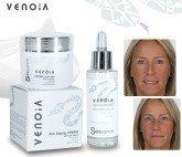venoia basic kit (day cream + face serum)
