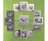 Reloj de Pared-Portafotos Múltiple Oh My Home (12 fotos)