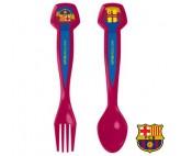 Set de 2 Cubiertos F.C. Barcelona