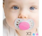 Chupetes para Bebés Junior Knows (pack de 2)