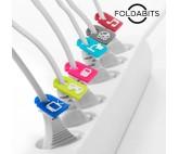 Identificadores de Cables Foldabits (pack de 6)