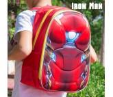 Mochila Escolar 3D Ironman