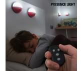 Focos LED Portátiles con Mando Pockelamp (pack de 4)
