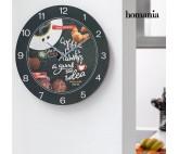 Reloj de Pared Food Homania