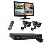 Sistema de Videovigilancia HD Smartwares DVR724S