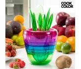 Utensilios de Cocina Apilables Multi Tool Fruit Cook Color