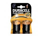 Pilas Alcalinas DURACELL Plus Power DURLR20PB2 LR20 D 1.5V (2 pcs)