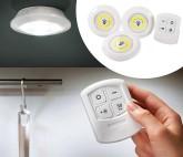 Luz sin Cables con Mando a Distancia