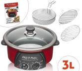 Chef O´Matic 3 L, Robot de Cocina Multifunción 12 en 1