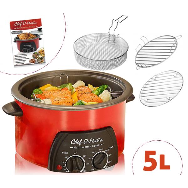 Robot de cocina multifunci n 12 en 1 de chef o matic 5 l - Robot de cocina chef o matic pro ...