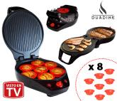Duadine, Cocina Portátil y Versátil + 8 Moldes de Silicona