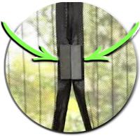 cortina magnetica